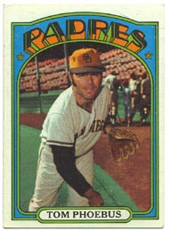 1972 Topps Baseball Cards      477     Tom Phoebus